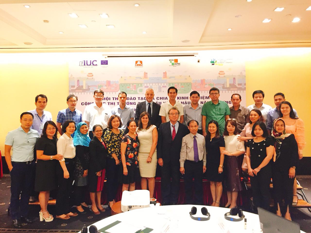 Training on Energy and Climate Action in Hanoi
