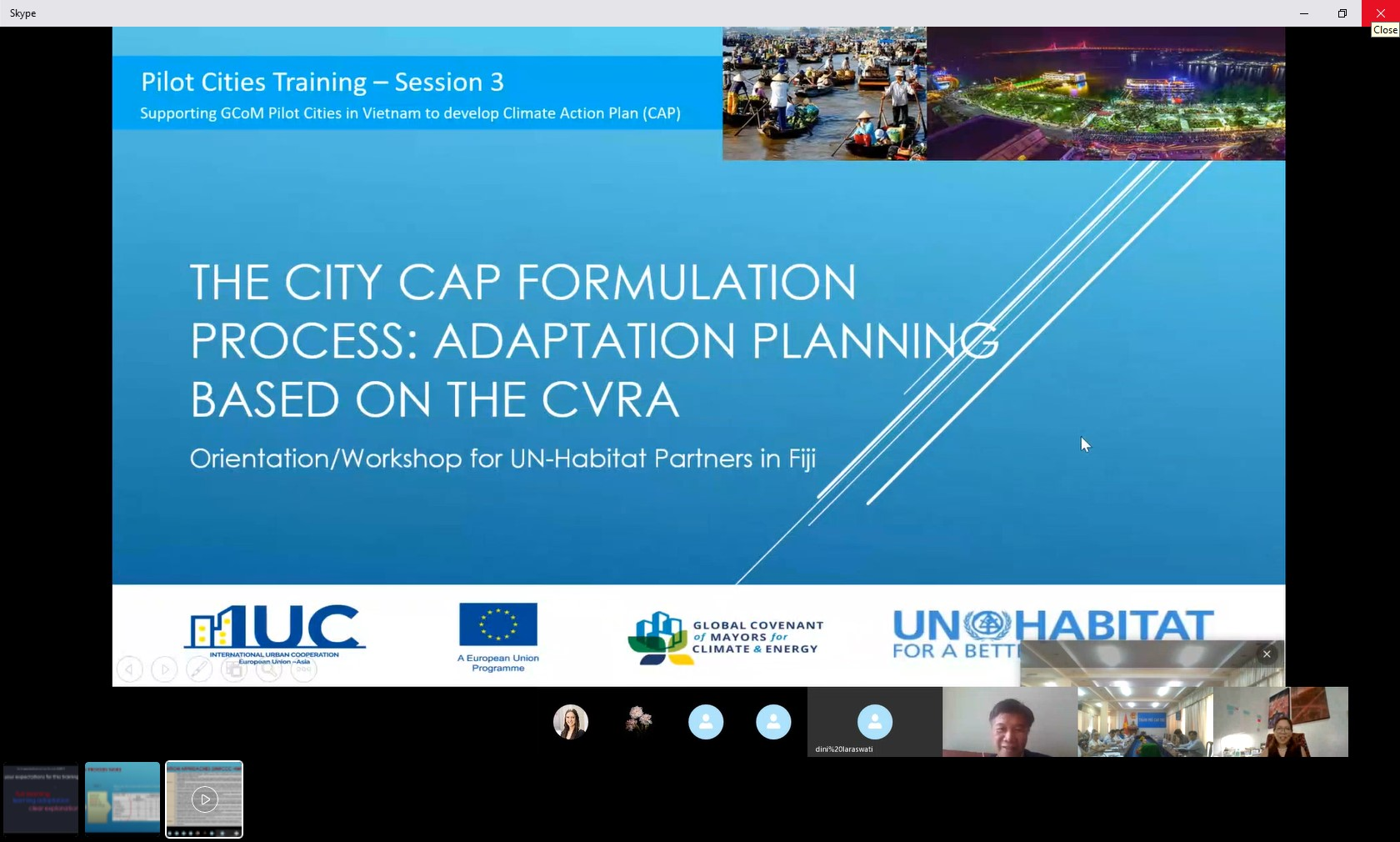 Vietnam: Capacity Building on Climate Adaptation for Can Tho's Stakeholders.