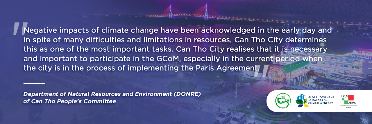 Member Profile – Can Tho City, Vietnam: Facing Climate Challenges Early and Head-on